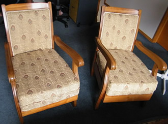 Repaired-Recovered Chairs