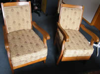 Repaired & Recovered Chairs